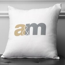 Personalized Unity Poly Cotton Throw Pillow