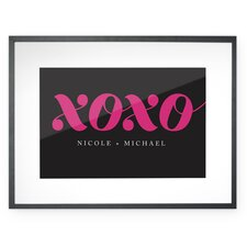 Personalized XOXO Wall Décor