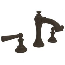Sutton Widespread Bathroom Faucet with Double Lever Handles