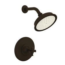 Aylesbury/Jacobean Pressure-Balanced Shower Trim with Cross Handle