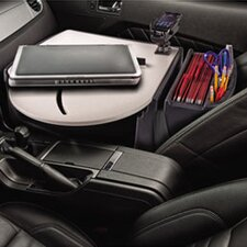 Car Desk with Laptop Mount, Supply Organizer