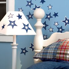 <strong>Wallies</strong> Glowing Stars Wallpaper Cutouts