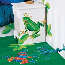 <strong>Wallies</strong> Tree Frogs Wallpaper Mural
