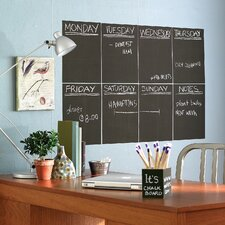 Slate Gray Chalkboard - 4 Sheet Vinyl Peel and Stick