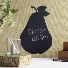 Pear Chalkboard Accent Vinyl Peel and Stick