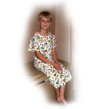 Printed Gown Youth Adaptive Clothing