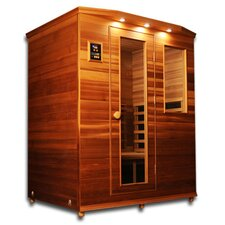 Premier 3 Person Carbon and Ceramic FAR Infrared Sauna