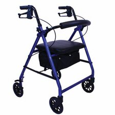 E-Series Rollator with Padded Seat