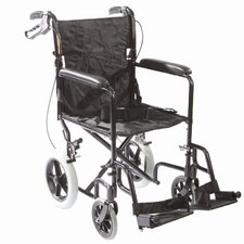 "Lightweight Transport 19"" Wheelchair"