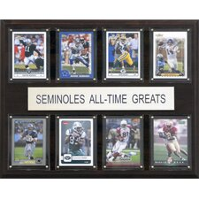NCAA Football All-Time Greats Plaque
