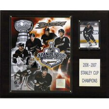 NHL Anaheim Ducks Champions Plaque