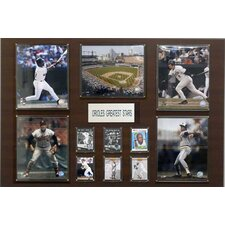 MLB Greatest Star Plaque