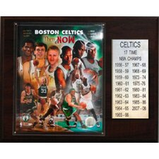 <strong>C & I Collectibles</strong> NBA Boston Celtics 17 Time NBA Champions Plaque