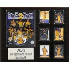 NBA Los Angeles Lakers Champions Plaque
