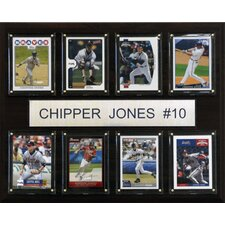 MLB 8 Card Plaque
