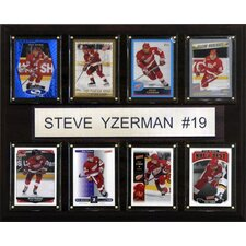 NHL 8 Card Plaque