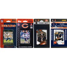 NFL 2006, 2007, 2009, 2010 and 2011 Licensed Trading Card Team Set