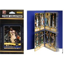 NBA Licensed 2010-11 Donruss Team Set Plus Storage Album