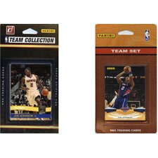 NBA 2 Different Licensed Trading Card Team Set