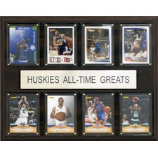 NCAA Basketball All-Time Greats Plaque