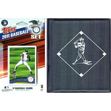 MLB Licensed 2011 Topps Team Set and Favorite Player Trading Cards Plus Storage Album