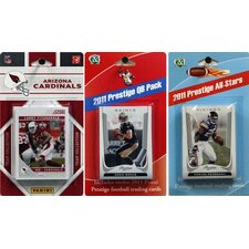 NFL Licensed 2011 Score Team Set With Twelve Card 2011 Prestige All-Star and Quarterback Set