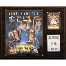 <strong>C & I Collectibles</strong> NBA Dallas Mavericks 2011 NBA Finals MVP Plaque