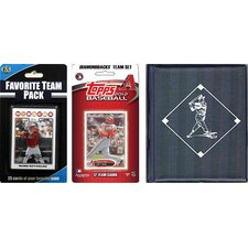 MLB Licensed 2012 Topps Team Set and Favorite Player Trading Cards Plus Storage Album