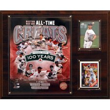 MLB All -Time Great Photo Plaque