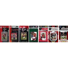NFL Different Licensed Team Trading Cards (Set of 7)