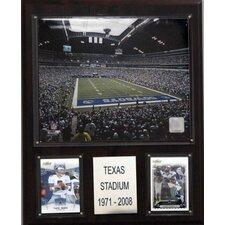 """NFL 12"""" x 15"""" Stadium Plaque"""