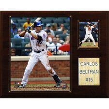MLB Player Framed Memorabilia Plaque