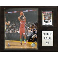 NBA Chris Paul Los Angeles Clippers Player Framed Memorabilia Plaque