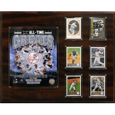 MLB All-time Great Framed Memorabilia Plaque