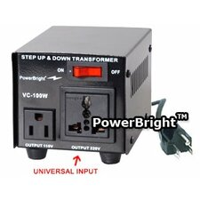100W Step Up / Down Voltage Transformer