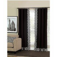 Palmer Rod Pocket Curtain Single Panel