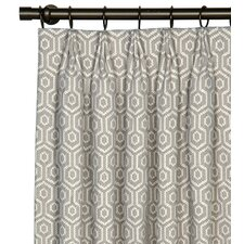 Gavin Cotton Grommet Curtain Single Panel