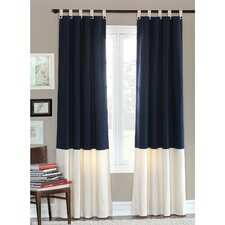 Presley Schooner Cotton Grommet Curtain Single Panel