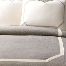 Wicklow Heather Button-Tufted Comforter
