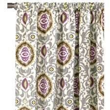Lautner Rod Pocket Curtain Single Panel