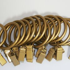 Iron Clip Curtain Ring (Set of 14)