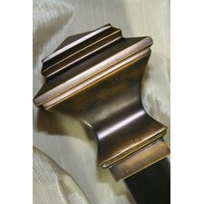 Quadrant Curtain Rod and Hardware Set