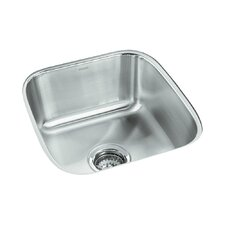 "Springdale 16.25"" x 17.75"" No Holes Undermount Single Bowl Kitchen Sink"
