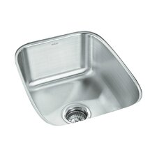 "Springdale 16.25"" x 20.5"" No Holes Undermount Single Bowl Kitchen Sink"