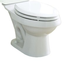 Dual Force 0.8 GPF / 1.6 GPF Elongated Toilet Bowl Only
