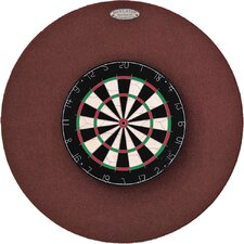 "Original 36"" Round Backboard in Burgundy"