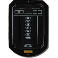 Black ScoreStation with Glossy Black Wet-Erase Surface