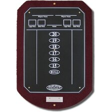 Burgundy ScoreStation with Matte Black Chalk Surface