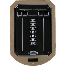 Tan ScoreStation with Glossy Black Wet-Erase Surface