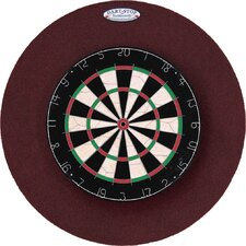 "Pro Series 29"" Round Backboard in Burgundy"